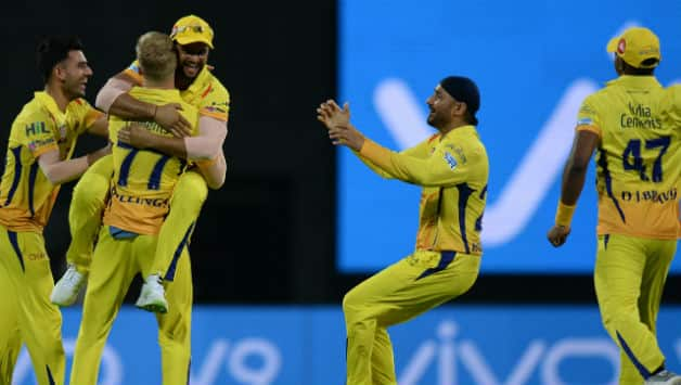 CSK played their first home game on Tuesday © AFP
