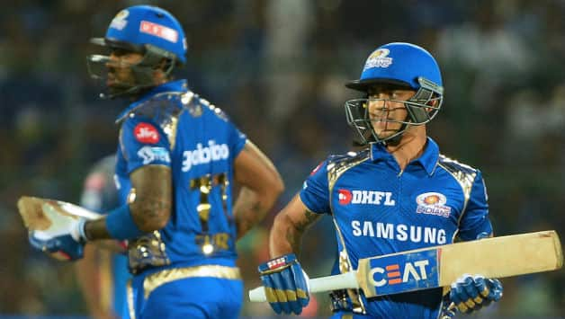 Suryakumar Yadav and Ishan Kishan added 129 runs for the second wicket © AFP