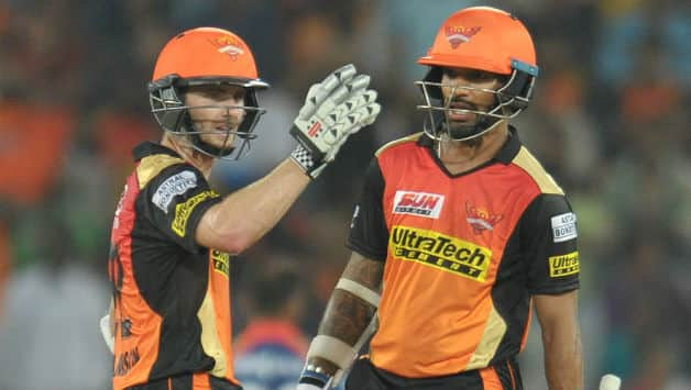 Indian T20 league 2018, Match 4: Shikhar Dhawan, Kane Williamson guides Hyderabad to 9 wicket win over Rajasthan