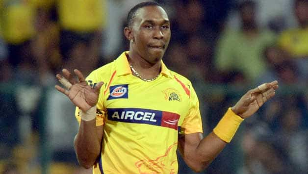 IPL 2018: Dwayne Bravo completes 100 wickets; become 2nd highest wicket-taker for Chennai Super Kings