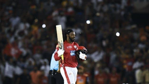 Chris Gayle has so far scored 252 runs © AFP