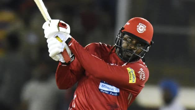 Chris Gayle's match-winning 104* for Kings XI Punjab against Sunrisers Hyderabad