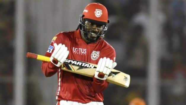 Chris Gayle was purchased for his base price of INR 2 Cr © AFP