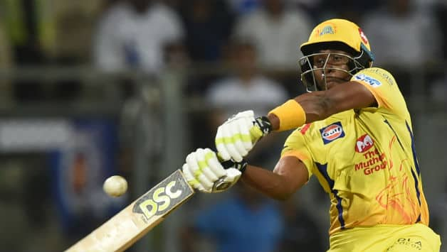 Dwayne Bravo scored a brisk 30-ball 68 that included 3 sixes and 7 fours © AFP