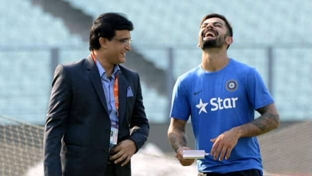 Sourav Ganguly: Virat Kohli will roam shirtless on Oxford Street if India win 2019 World Cup