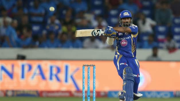 Indian T20 League 2018: Krunal Pandya's blasting innings guides Mumbai to 165/4 against Chennai