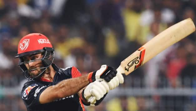 Glenn Maxwell scored 44 in DD's loss to KKR © AFP