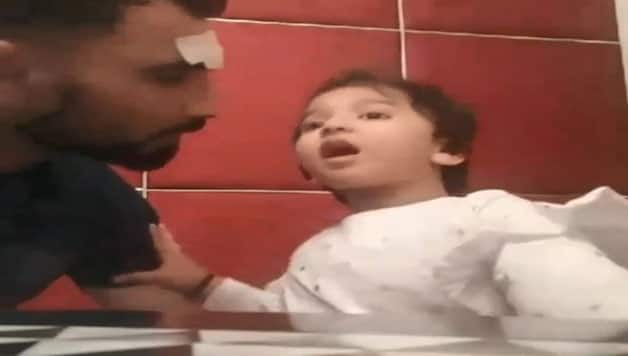 Mohammed Shami missing his daughter; shares picture before IPL-11