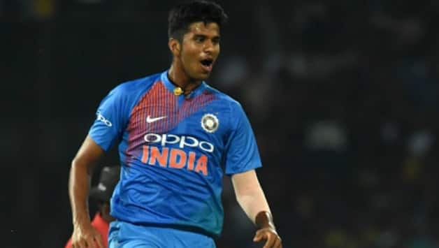 Washington Sundar will form a lethal pair with Yuzvendra Chahal for RCB (Image courtesy: AFP)