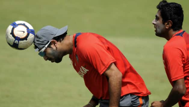 Yuvraj Singh (left) and Ravichandran Ashwin last shared the dressing room during the West Indies tour last year © AFP