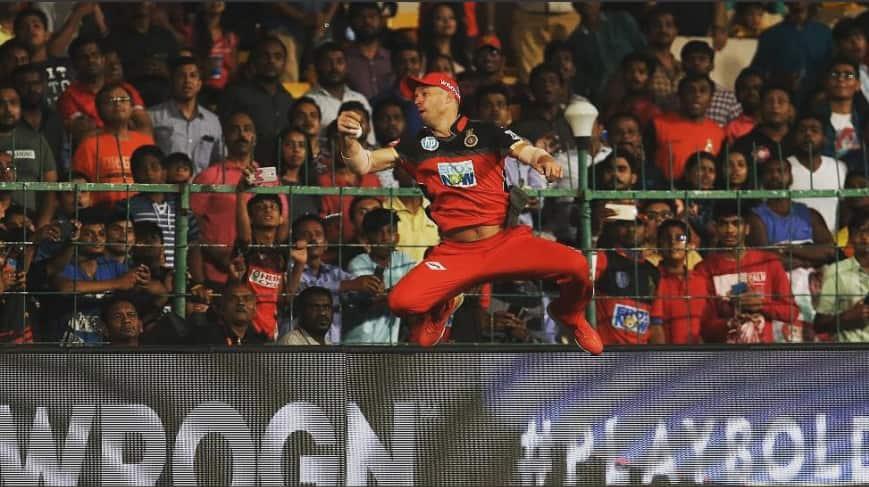 IPL 2018: Virat Kohli amazed by AB De Villiers's catch; Calls him Spider-Man