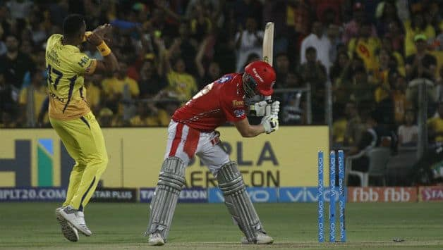 David Miller made a comeback and looked good for a brief while before succumbing to a Dwayne Bravo yorker ©  IANS