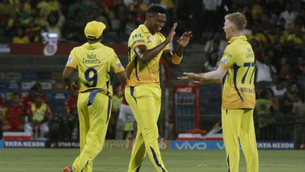 Lungi Ngidi starred with the ball © IANS