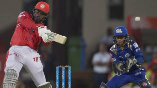 MI, KXIP, IPL 2018, Rohit Sharma, Chris Gayle
