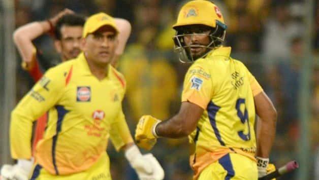 IPL 2018 : Mahendra Singh Dhoni rates Ambati Rayudu very highly