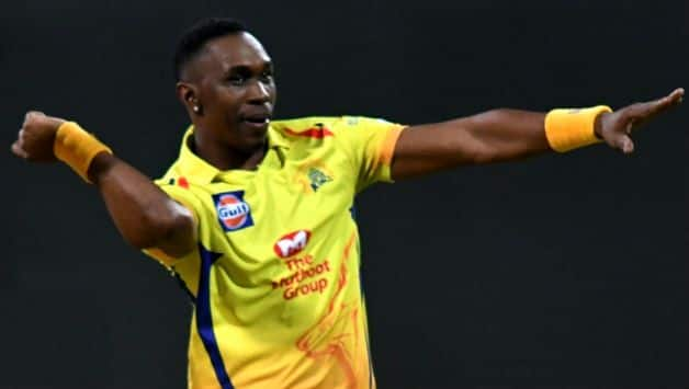 After SRH match MS Dhoni Gets 'Dance Tribute' From Dwayne Bravo