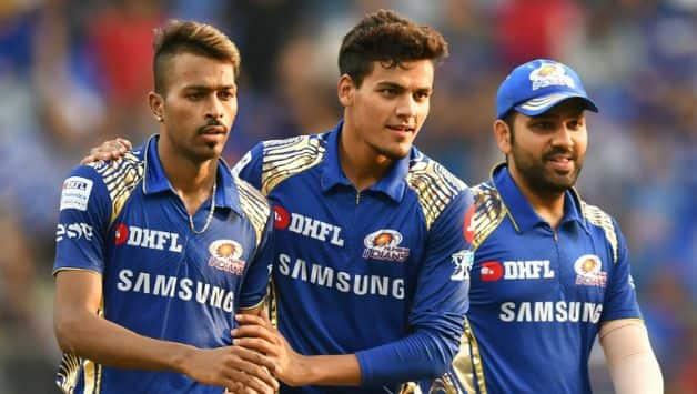 Hardik Pandya acheived the orange cap with 14 wickets © AFP