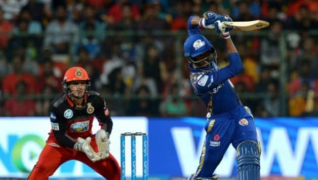Hardik Pandya fought hard with this innings of __ off __ © AFP