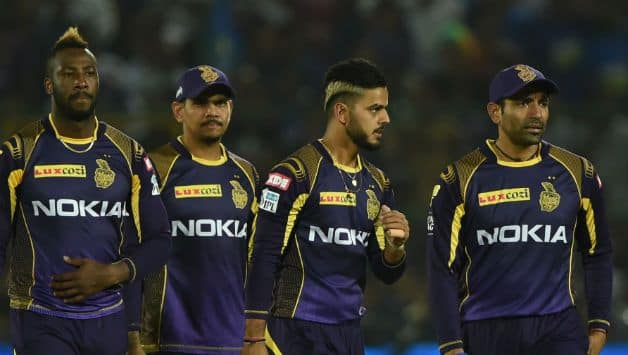 KKR earn two valuable points in their kitty © AFP