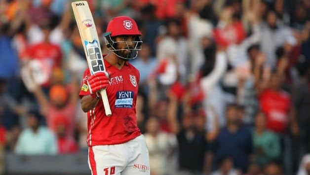 IPL 2018 : Kings XI Punjab won the toss elected to field first