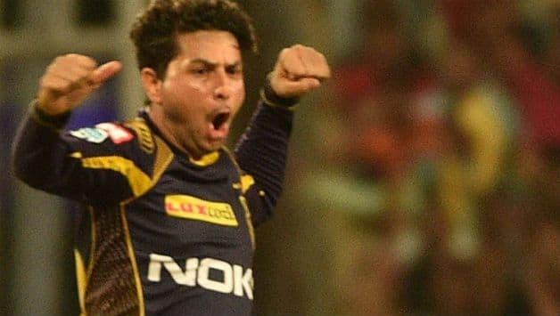 Kuldeep Yadav picked four wickets against RR last evening © IANS