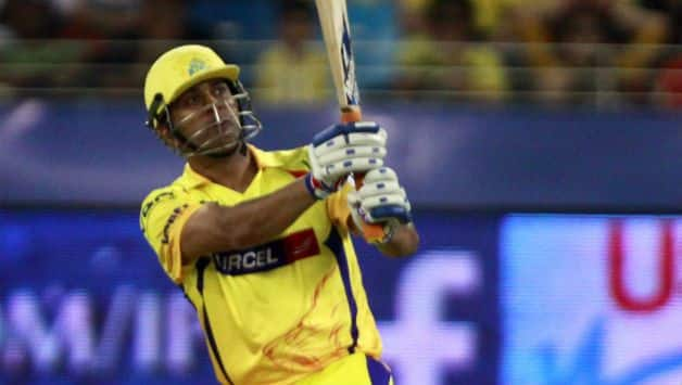 IPL 2018: Watch MS Dhoni's reply when fan asked how you make long sixes