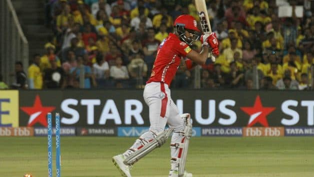 KL Rahul failed to get KXIP off to a good start. He was bowled by Lungi Ngidi © IANS