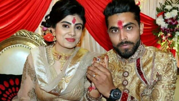 Ravindra Jadeja's wife Riva solanki attacked by a policeman after her car hit the bike