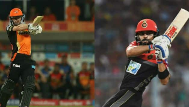 SRH have a better record vs RCB © AFP