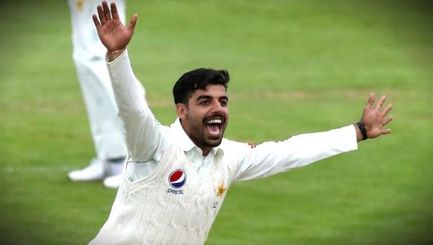Pakistan's Shadab Khan becomes youngest leg-spinner to take 10 wickets in first-class match in England