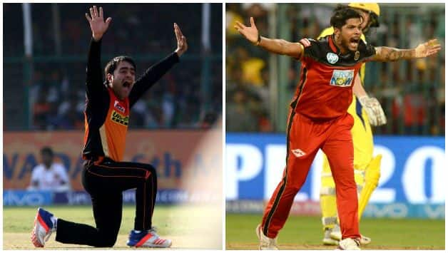 IPL 2018 : Umesh Yadav has more dot balls and wickets than Rashid Khan