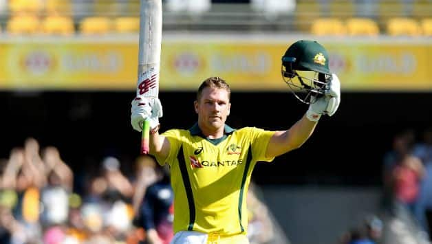 Aaron Finch will lead Australia in ODis against England © Getty Images