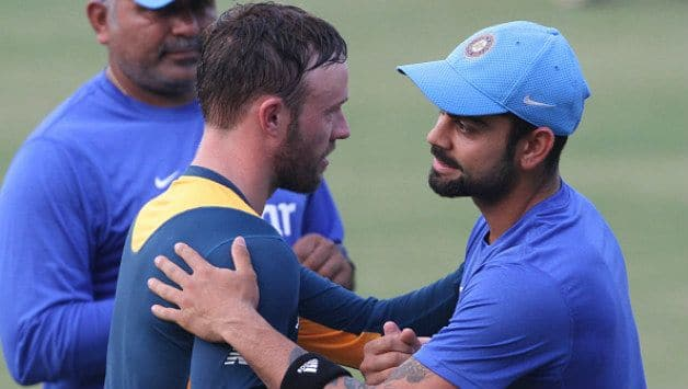 Virat Kohli gives best wishes to AB De villiers on his retirment decision
