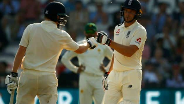 Dominic Bess (left) and Jos Buttler (Image courtesy: Getty)