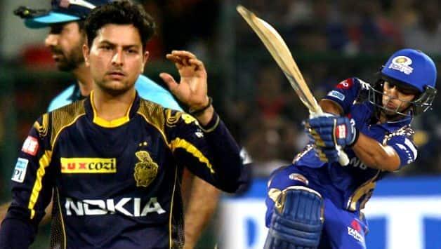 Ishan Kishan hits four consecutive sixes in kuldeep yadav's over
