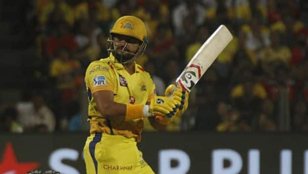 Suresh Raina along with Deepak Chahar guided CSK home. Raina got another fifty and skipper MS Dhoni finished the match with a six © IANS