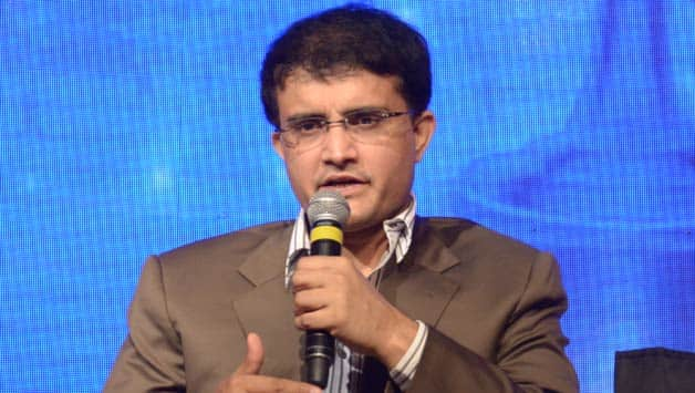Sourav Ganguly  © IANS