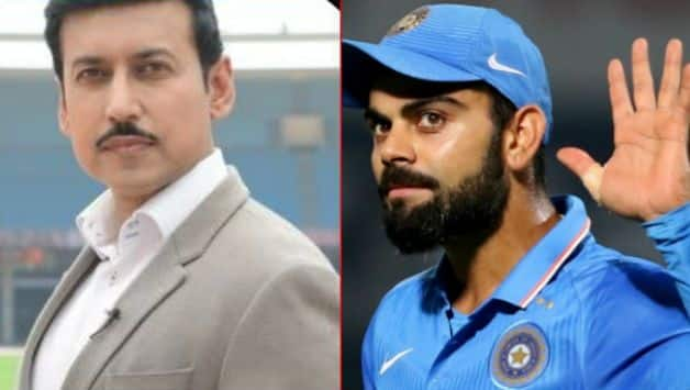 VIDEO: Sports Minister Rajyavardhan Rathore urges Virat Kohli to take up Fitness Challenge