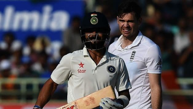 Virat Kohli and James Anderson (r) © Getty Images