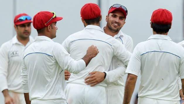 Afghanistan Test team  © AFP