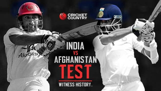 India vs Afghanistan Test: Afghanistan set for 'Test' run in and against India