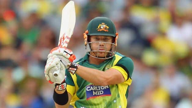 David Warner scores ton against Australia National High Performance in a practice T20 match