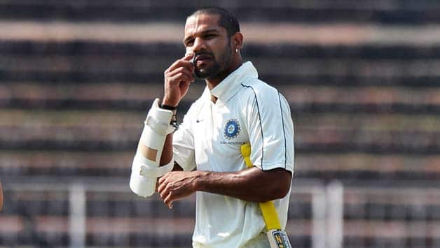 Shikhar Dhawan: It was fantastic to score century in first session
