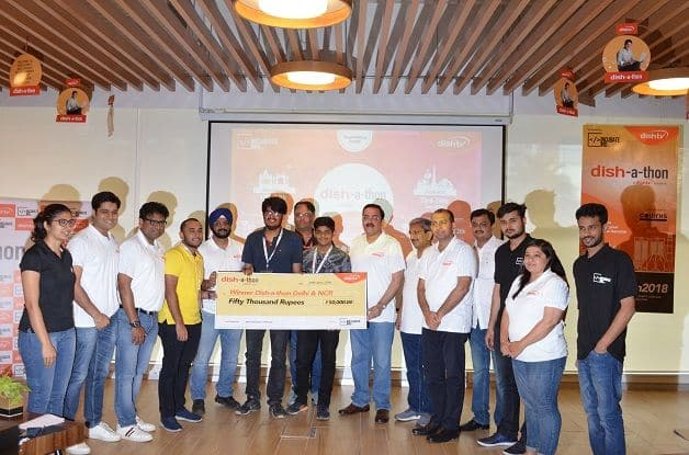 Dish TV India concludes Grand Finale of M&E and Broadcasting industry's first ever Hackathon