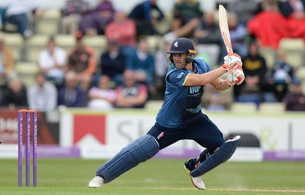 Heino Kun Worcestershire Kent Royal London One-Day Cup 2018