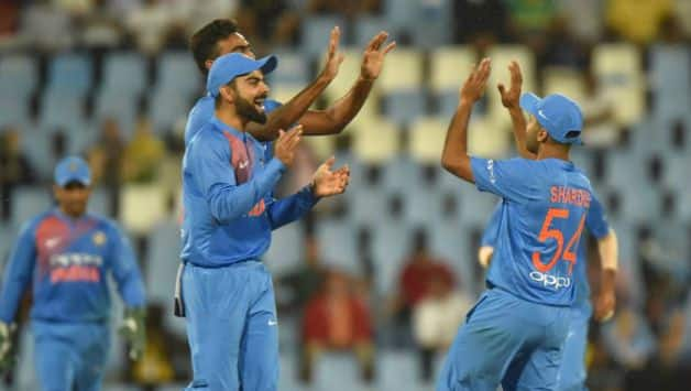 Indian T20I team © AFP