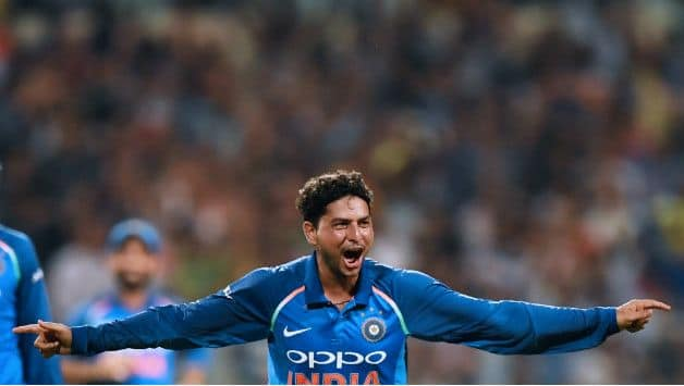 Kuldeep Yadav finished with figures 4-1-21-4 © AFP (file image)