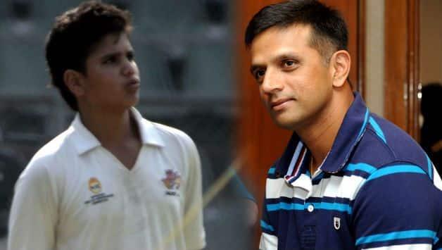 Rahul Dravid will not coach Arjun Tendulkar on Sri Lanka tour