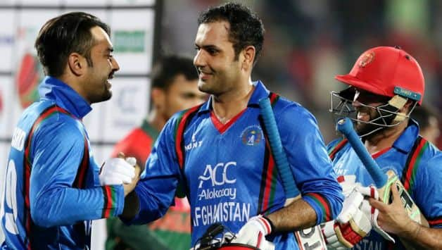 Afghanistan clinch maiden series win against Bangladesh © AFP