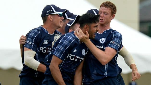 Scotland defeated England by mere 6 runs © Getty Images